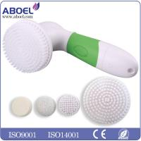 Quality 4pcs AA Battery Electric Facial Cleansing Brush For Removing Black Head for sale