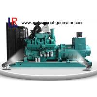 Quality OEM 400V Open Diesel Generator Cummins , 600kw Diesel Generating Set with Electric Motor for sale