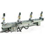 China Free Shipping KM-368B Pneumatic Multi-head Drilling Machine for sale