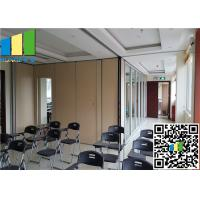 Wholesale Soundproof Removable Wall Partition 79 - 160 Inch For Hotel Decoration from china suppliers