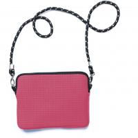 China Small Neoprene Crossbody Bag / Shoulder Tote Bag With Interior Pocket And Adjustable Straps on sale