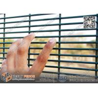Buy cheap RAL6005 Green Color 358 Anti-climb Welded Mesh Security Fence - China Factory from wholesalers
