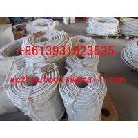 China double braided polyester rope nylon solid braided rope on sale