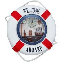 Buy cheap 2012 New Decorative Life Buoy with Clock from wholesalers