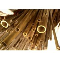 Wholesale C44300 / CuZn28Sn1As / CZ111 Yellow Copper Pipes , Seamless Brass Tube from china suppliers