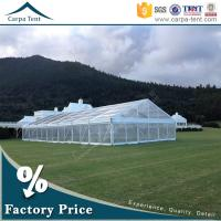 Wholesale Outdoor Corporate Event Marquees Party Tents with Transparent Walls from china suppliers