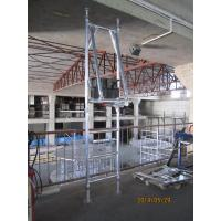 Wholesale Portable 2kn / ㎡ Safe Mobile Tower Scaffold with Ring lock joints for Mobile Houses from china suppliers