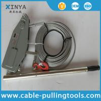 Wholesale Manual Cable Pulling Tools Hand Wire Rope Winch Wire Rope Tirfor 3.2 Ton from china suppliers