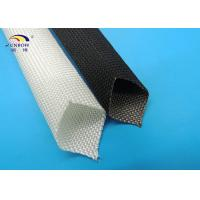 Wholesale Customized High Temperature Fiberglass Braided Insulation Sleeve Flame Retardant from china suppliers