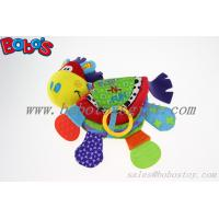 Wholesale Plush Colorful Horse Infant Baby Educational Toy Soft Activity Printing Book Toy from china suppliers