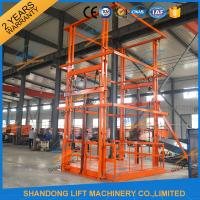 Wholesale 5T 6m Warehouse Hydraulic Guide Rail Freight Lift Elevator Vertical Goods Lift With CE TUV from china suppliers