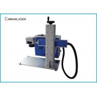Wholesale High Speed Mini 10W / 20w Fiber Laser Marking Machine For Metal Dog Tag from china suppliers