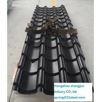 Quality Special Art Corrugated Metal Roofing Sheets 0.4mm / 0.5mm / 0.6mm Colorful for sale
