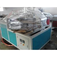 Wholesale Automatic Cutting Double Screw PVC Pipe Extrusion Line With Stacker from china suppliers