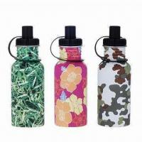 Wholesale Stainless Steel Baby's Bottle, Nontoxic and Tasteless, Unbreakable Design, Comes in Various Colors from china suppliers