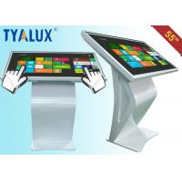 "Wholesale LED Backlight 55"" Free Standing Digital Signage Touchscreen , Powering Saving from china suppliers"