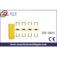 Wholesale 4.5mm Automatic Car Park boom Vehicle Barrier Gate with three fence from china suppliers