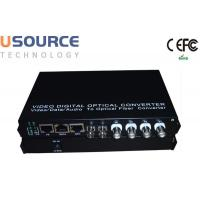 Wholesale 720P 1080P 1 - 16 Channel Fiber Optical Audio Video Digital Converter from china suppliers