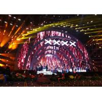 Quality Stage Show Rental Led Display Screen , Led Big Display  Ultra Clear Ultra Slim for sale