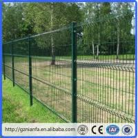 Quality ISO/CE certificated galvanized and PVC coated Welded Wire Mesh Fence(Guangzhou Factory) for sale