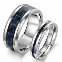 Wholesale New Super Fashion Tagor Jewelry Factory Ceramic Tungsten Series Ring TYWR006 from china suppliers