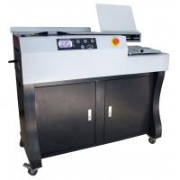 Quality 60mm Automatic Perfect Blue Book Binding Machine 300 Books / Hour V60A4/V60A3 for sale