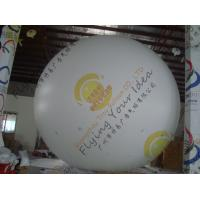 Wholesale Large Helium Inflatable Advertising Balloons Fireproof 0.28mm Blank White PVC from china suppliers