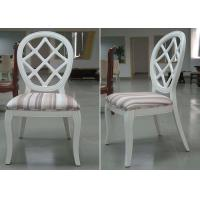 Wholesale Restaurant Streak Fabric Upholstery Modern Dining Room Chairs With Round Back from china suppliers