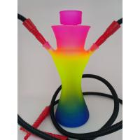 Quality Cangzhou hand blown mix color big glass hookah pipes for sale