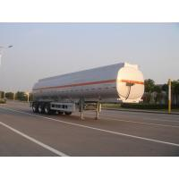 Wholesale 45000L-3 axles-Aluminum Fuel  Tanker Semi-Trailer for Oil , jet from china suppliers