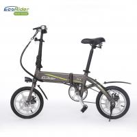 Wholesale Smart Foldable Electric Biker 2 Wheel Electric Bike With Removeable Lithium Battery from china suppliers