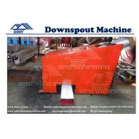 Wholesale Aluminum Sheet Portable Downspout Roll Forming Machine With Fly Saw Cutting from china suppliers
