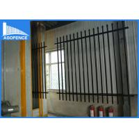Quality Powder Painted Q235 Steel Panel Fence , Heavy Duty Industrial Security Fencing for sale