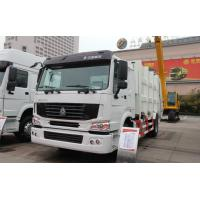 Wholesale Sinotruck Howo 4 x 2 8L 8-12m3 Compacted Garbage truck Recycling Type from china suppliers
