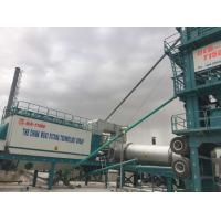 Wholesale 1500 Model Asphalt Mixing Plant Mobile , Portable Batch Plant With 20T Hot Storage Bin from china suppliers