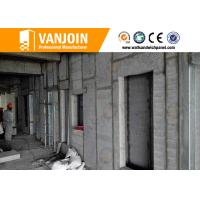 Wholesale Fast Building EPS Cement Sandwich Panel , Decorated Precast Wall Panels from china suppliers