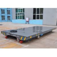 Buy cheap Steel Box Beam Structure VFD Devices Electric Flat Car from wholesalers