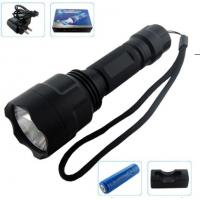 Wholesale high efficiency powerful led aviation aluminum flashlights use for field environments pp-zy802  from china suppliers