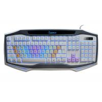 Wholesale USB wired Multimedia Adjustable Backlit Gaming Computer Keyboard Rainbow-color keycap for Gaming and Office from china suppliers