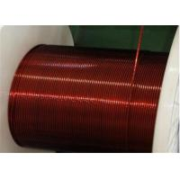 Wholesale 0.02 - 1.8mm Enamel Coated Copper Wire Super Flat / Rectangular Magnet Wire from china suppliers