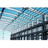 Wholesale Q345 Pre Engineered Light Weight Metal Industrial Steel Buildings / Workshop from china suppliers