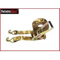 Wholesale OEM Quick Release Polyester Ratchet Tie Down Strap With Ratchet Buckle from china suppliers