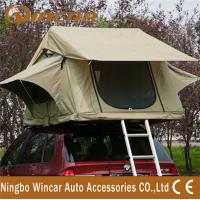 Wholesale 3 - 4 Person car Top Tent Water resistance polyester for Trailer from china suppliers