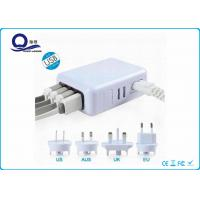 Wholesale Travel Usb Multiport Adapter Charger With 5V 2.1A / 3.1A  / 5.4A Output from china suppliers