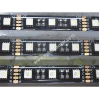 Wholesale IP65 waterproof black pcb rgbw led strip from china suppliers