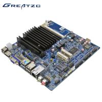 Wholesale Fanless Mini ITX Motherboard DC 12V INTEL Bay Trail-D Celeron J1900 cpu from china suppliers