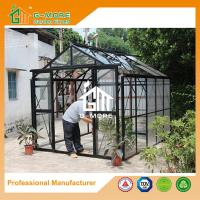 Wholesale 319X253X250CM Black Color Imperial Series Double Door Glass Greenhouse from china suppliers