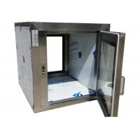 Wholesale Pharmaceutical Clean Room Pass Box Through 110V / 60HZ , Softwall Cleanrooms from china suppliers