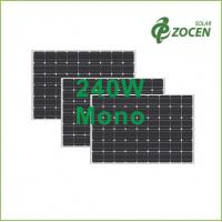 Wholesale 240W 27V Monocrystalline Solar Panels , 0 - 3% Positive Tolerance from china suppliers