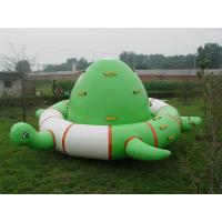 Quality Durable PVC Turtle Shaped Inflatable Water Floats With Air Pump / Repair Kits for sale